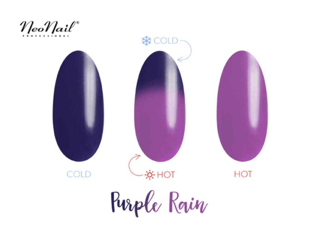 Gelinis lakas Termo 6 ml – Purple Rain