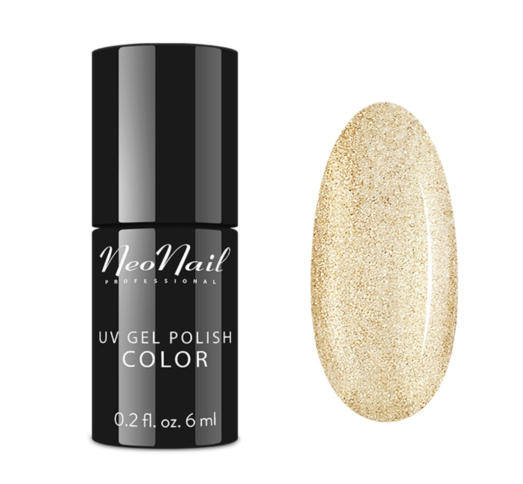 Gelinis lakas 6 ml – Glitter Gold