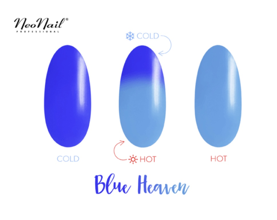 Gelinis lakas Termo 6 ml – Blue Heaven