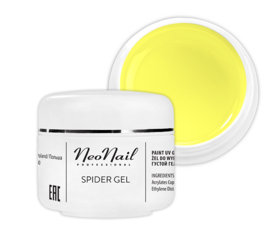 Spider Gel 5 g – Neon Yellow