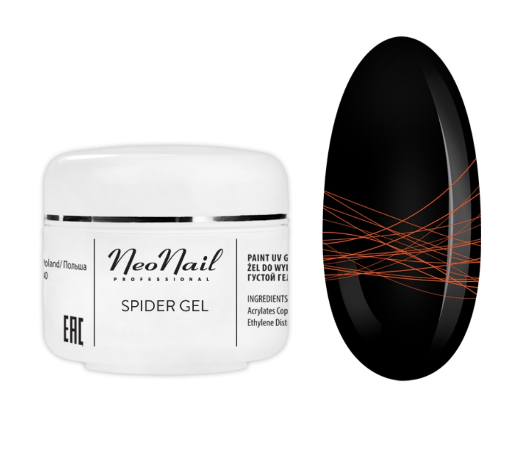 Spider Gel 5 g – Neon Orange