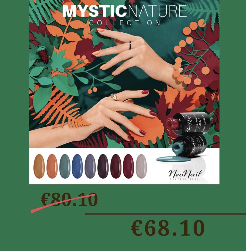 "Visos kolekcijos ""Mystic Nature"" spalvų rinkinys"