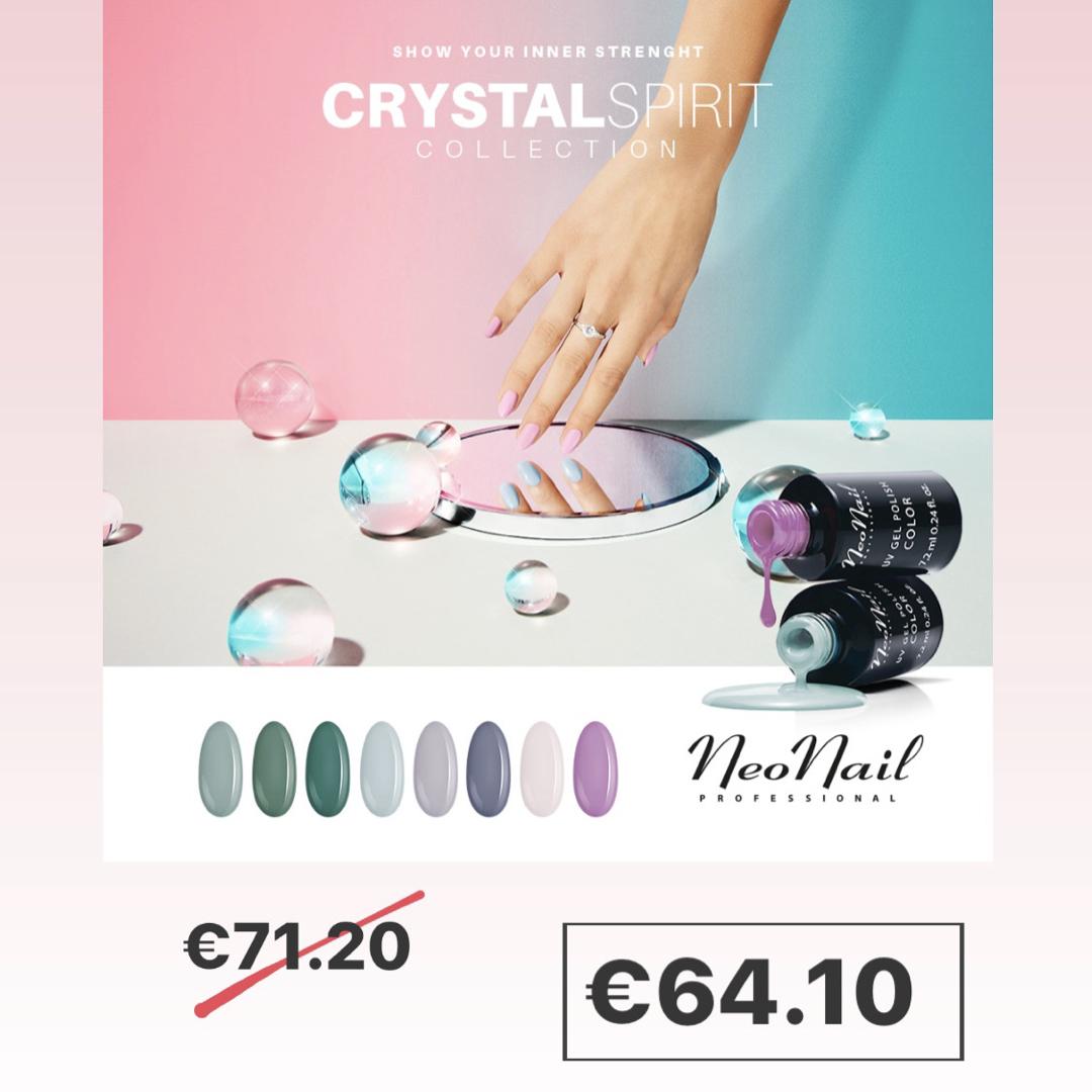 """Visų spalvų rinkinys """"Crystal Spirit"""""""