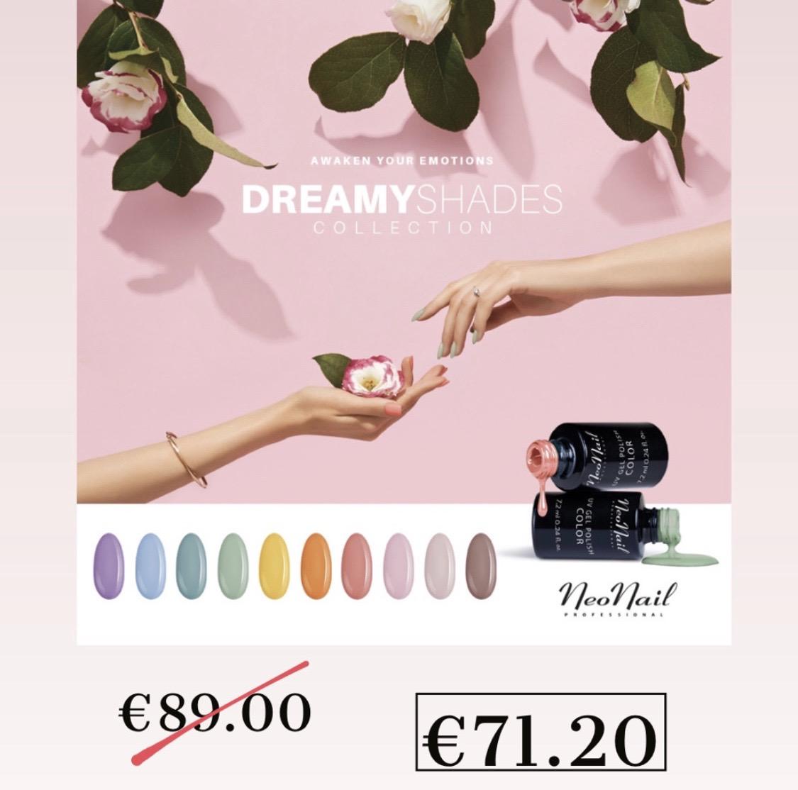 """Visų spalvų rinkinys """"Dreamy Shades"""""""