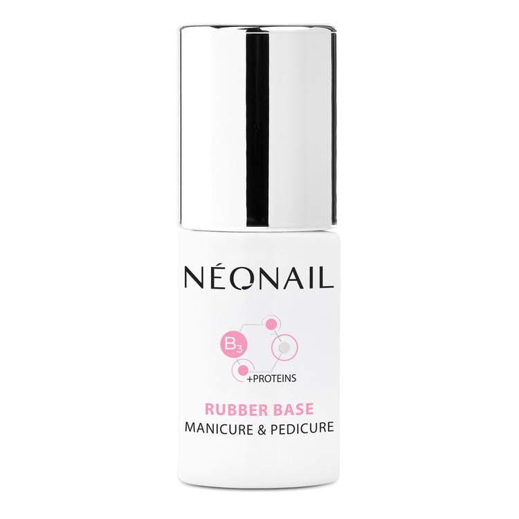 NEW! Gelio lako bazė 7,2 ml – Rubber Base Manicure & Pedicure 7,2 ml